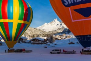 Ballon fahren in Filzmoos Salzburg