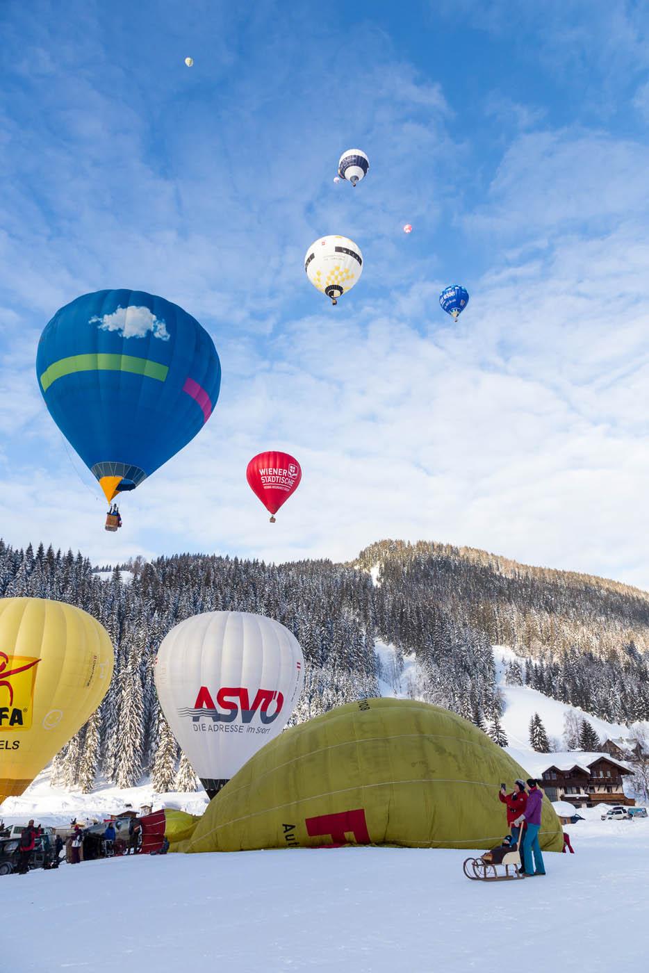 Idee Geburtstagsgeschenk eine Ballonfahrt