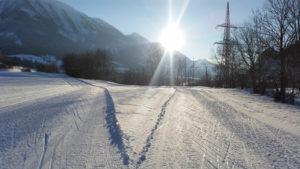 Outdoor Sport im Winter, Langlaufen