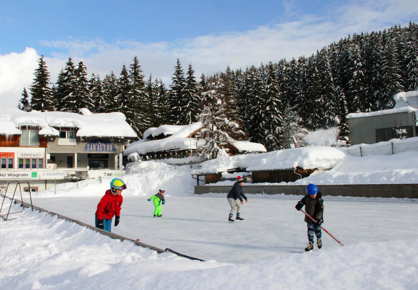 Winteraktivitäten in Salzburg neben Skifahren