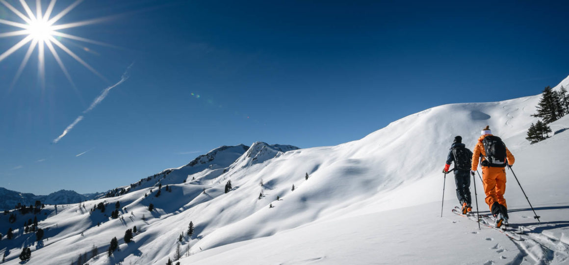 7 winter activities in Wagrain-Kleinarl off-piste
