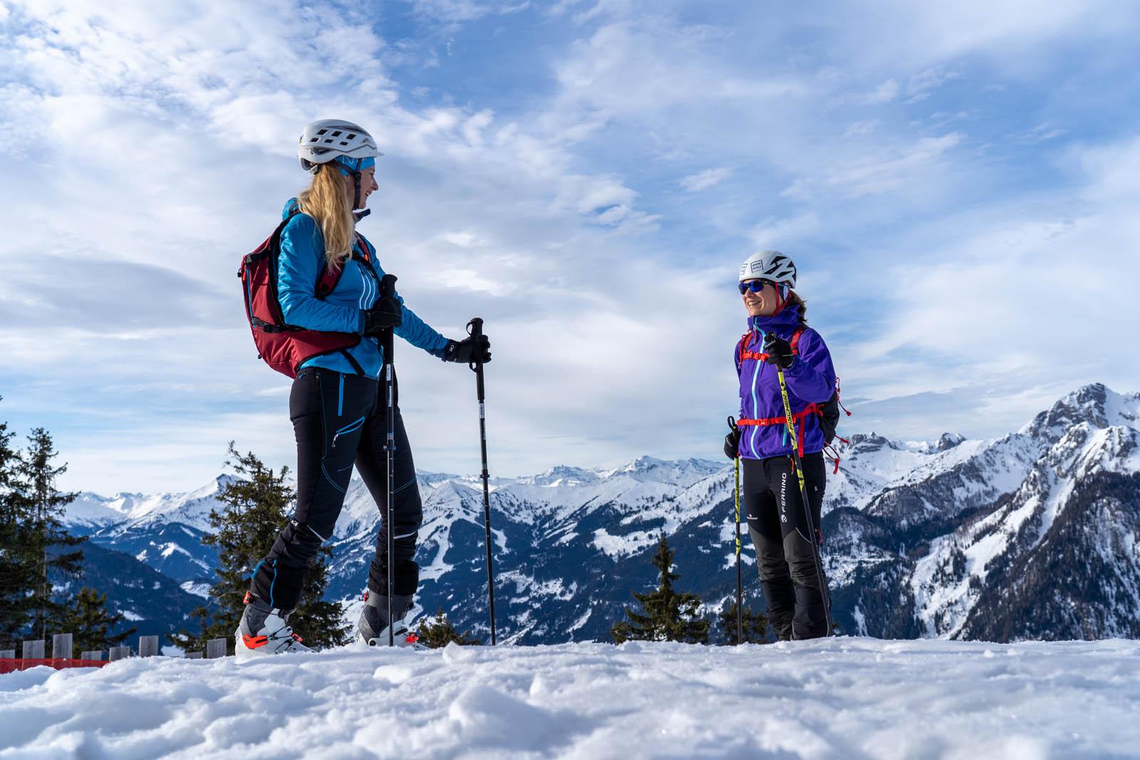 Wintersports in Salzburg, Touren Route in Salzburg