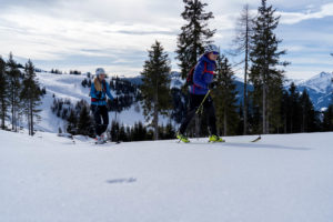 Wintersport in Salzburg, Tourenrouten in Salzburg