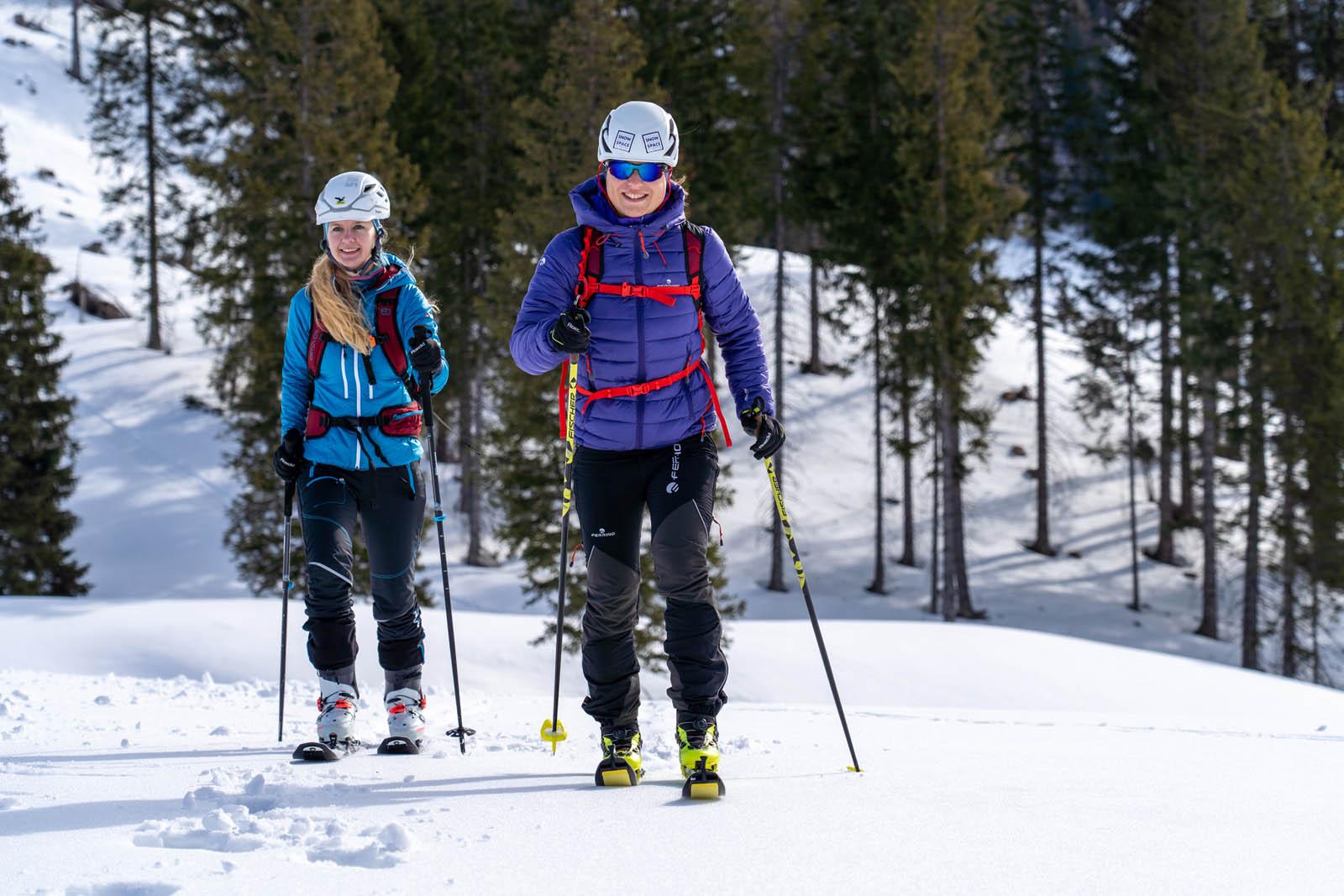 Skitour route in Salzburg