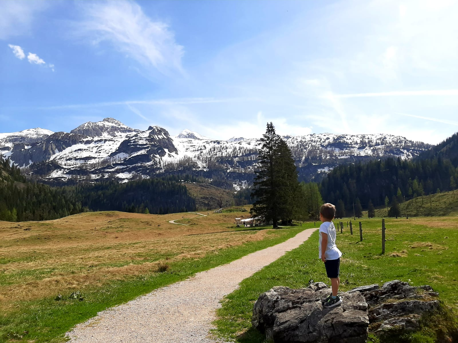 Hiking with kids, hiking trail suitable for prams