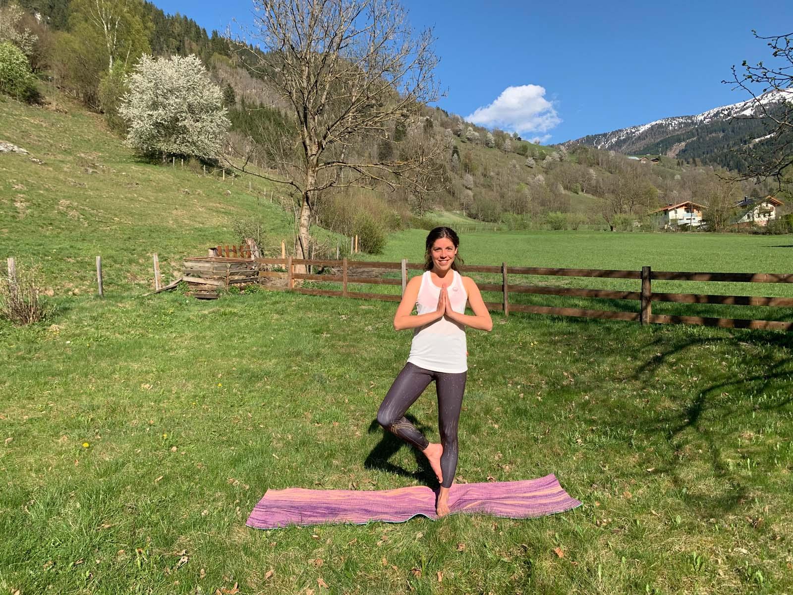 Yogaübungen für zu Hause