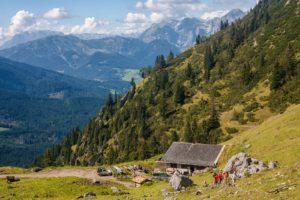 Königinnenrunde in Filzmoos, Wandern in Österreich, Wandern in Salzburg