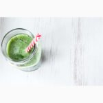 Nettle smoothie from the garden