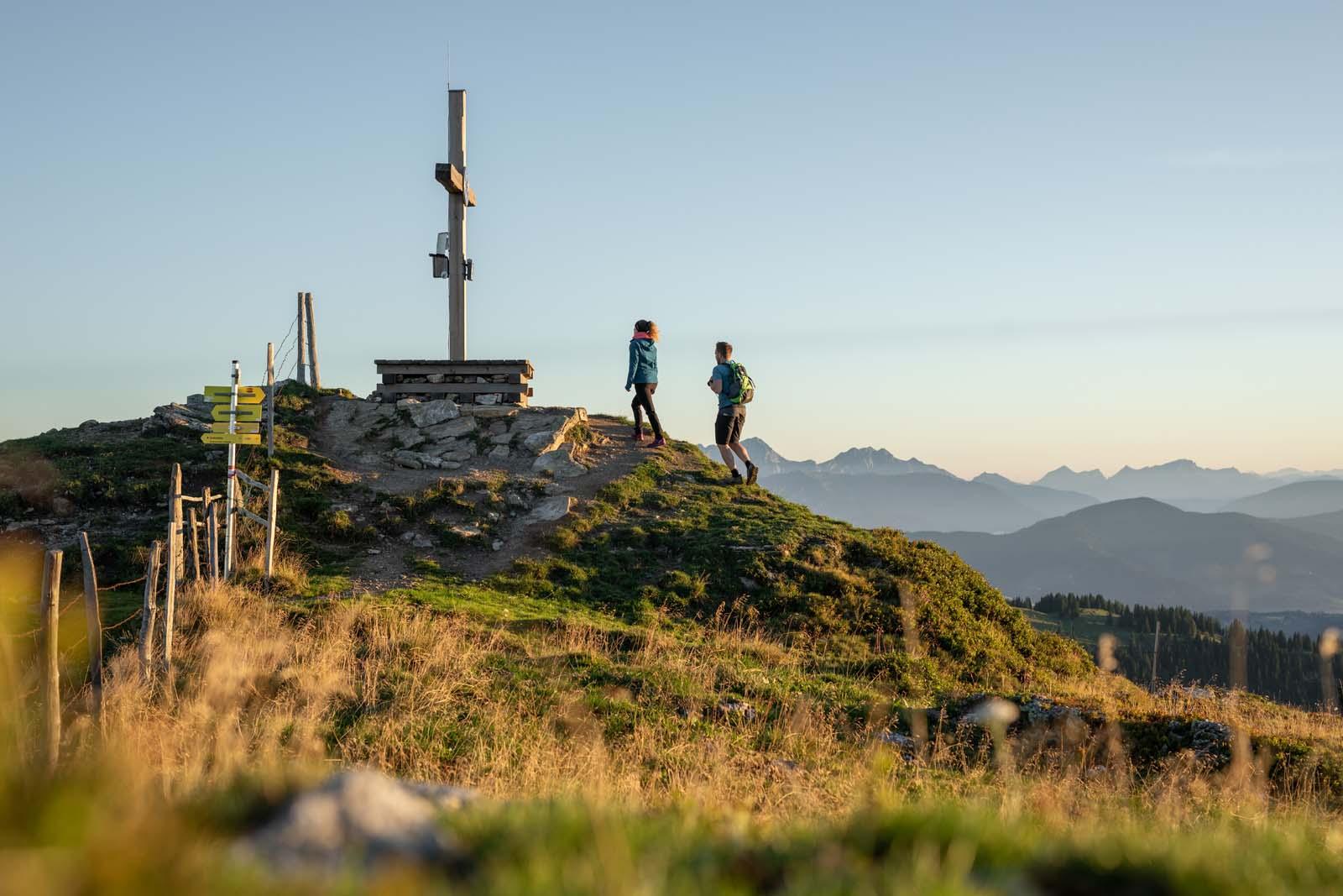 Ausflugsziel Kleinarler Hütte, Wandern in Wagrain-Kleinarl, Wanderrouten