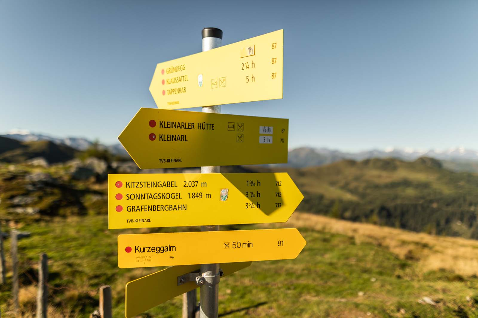 Excursion destination Kleinarler Hütte, hiking in Wagrain-Kleinarl, hiking routes