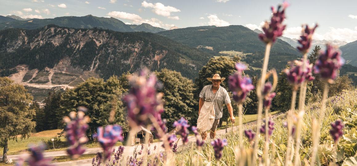 Pioniere in Salzburg, der Lavendelbauer in Radstadt