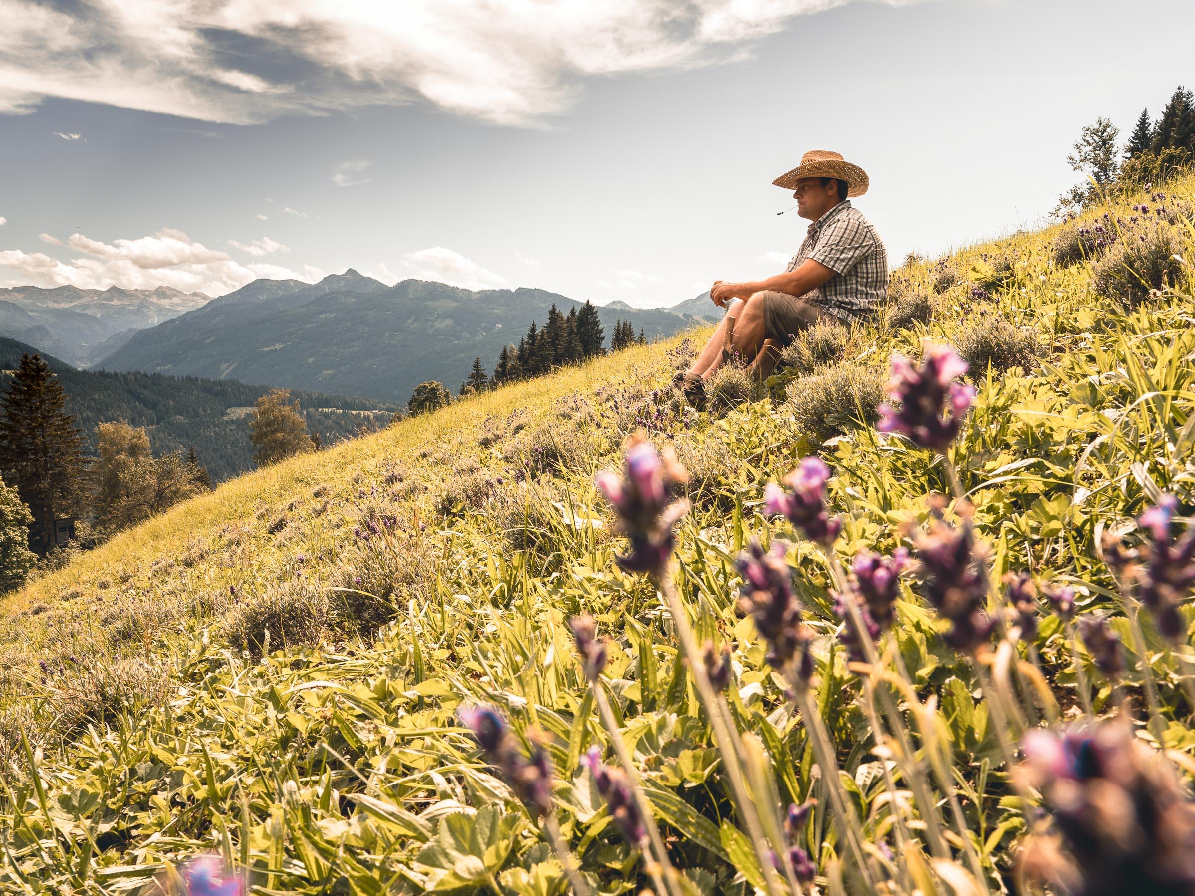 Pioneers in Salzburg, the lavender farmer in Radstadt