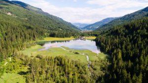 Wandern in Kleinarl, Rund um den Jägersee