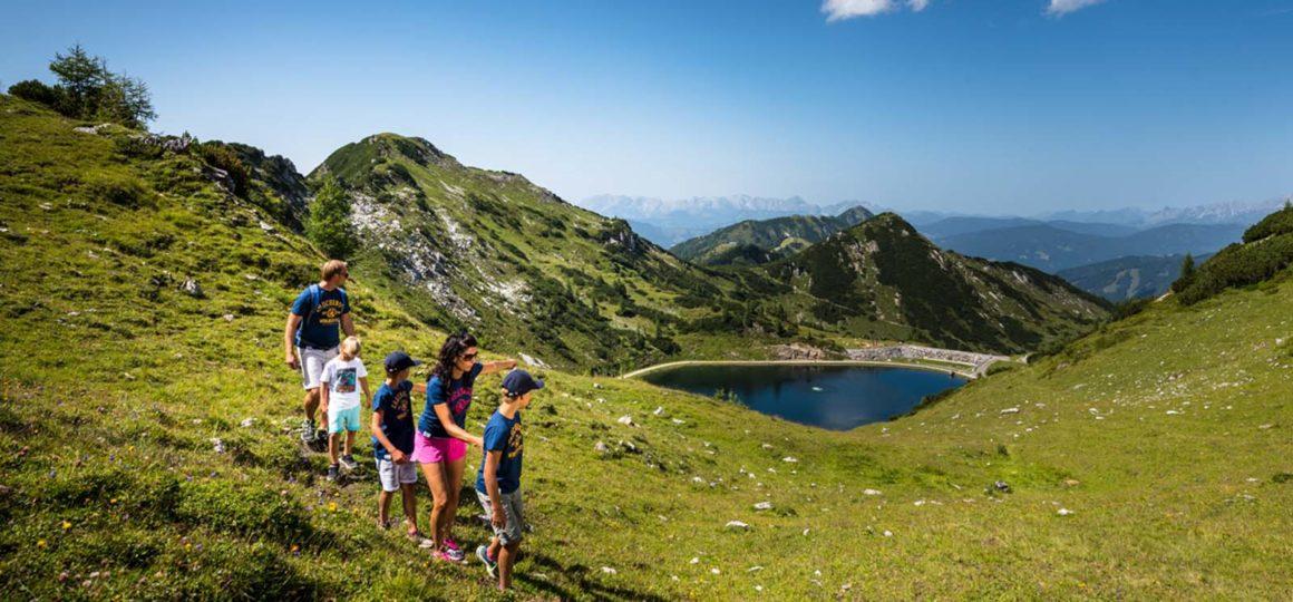 Wandern mit Kinder in Zauchensee