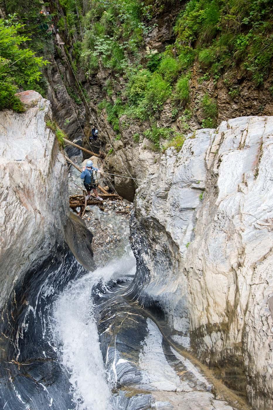 Climbing garden, high ropes course,