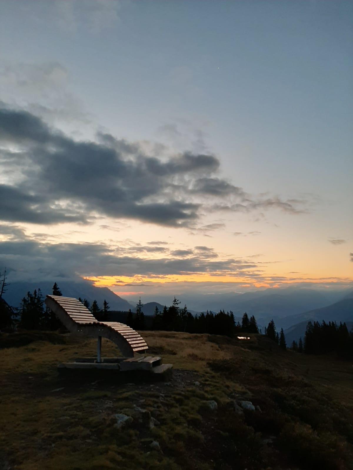 Sunrise hike, Salzburg, Austria