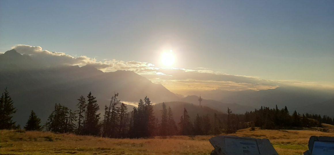 Sunrise hike, Salzburg, Österreich