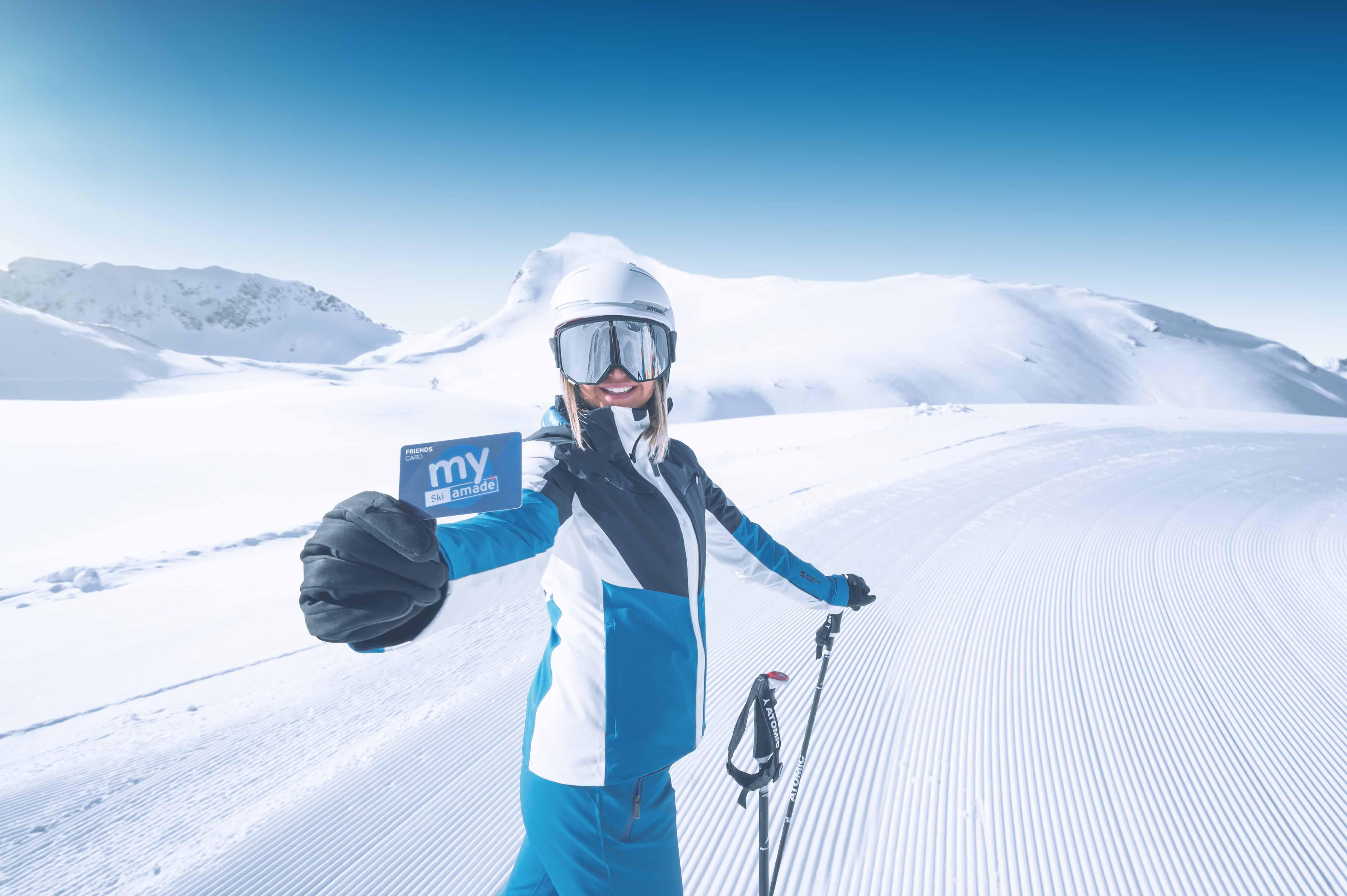 skiing in Ski amadé