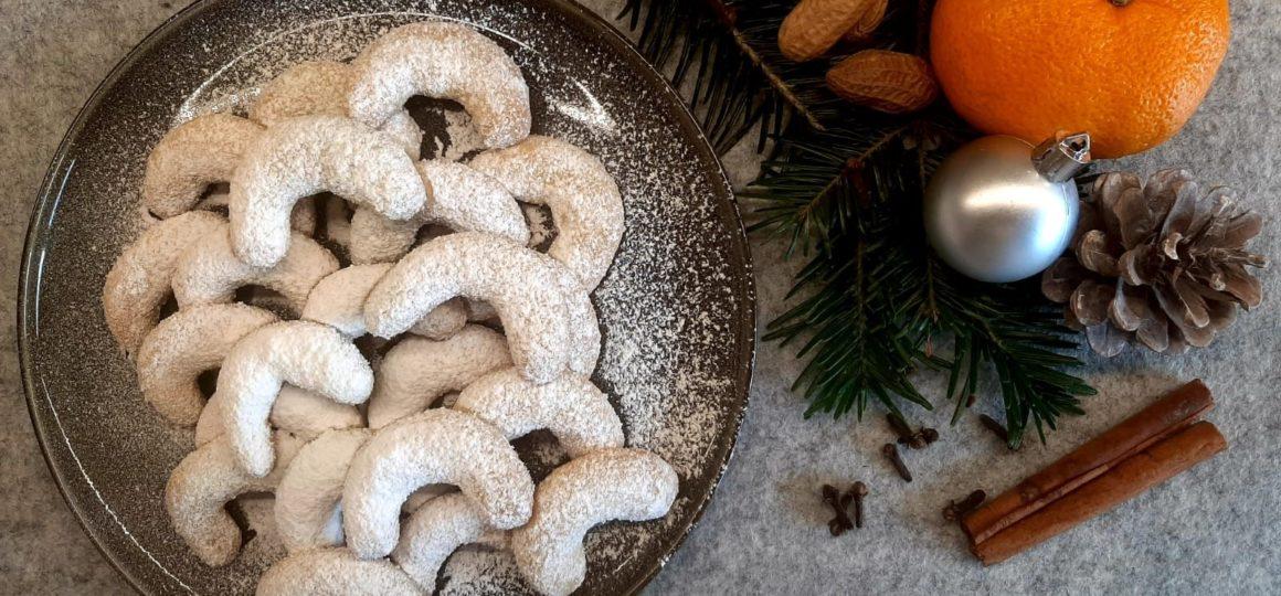Grandmother's biscuit recipe, vanilla horns to bite into