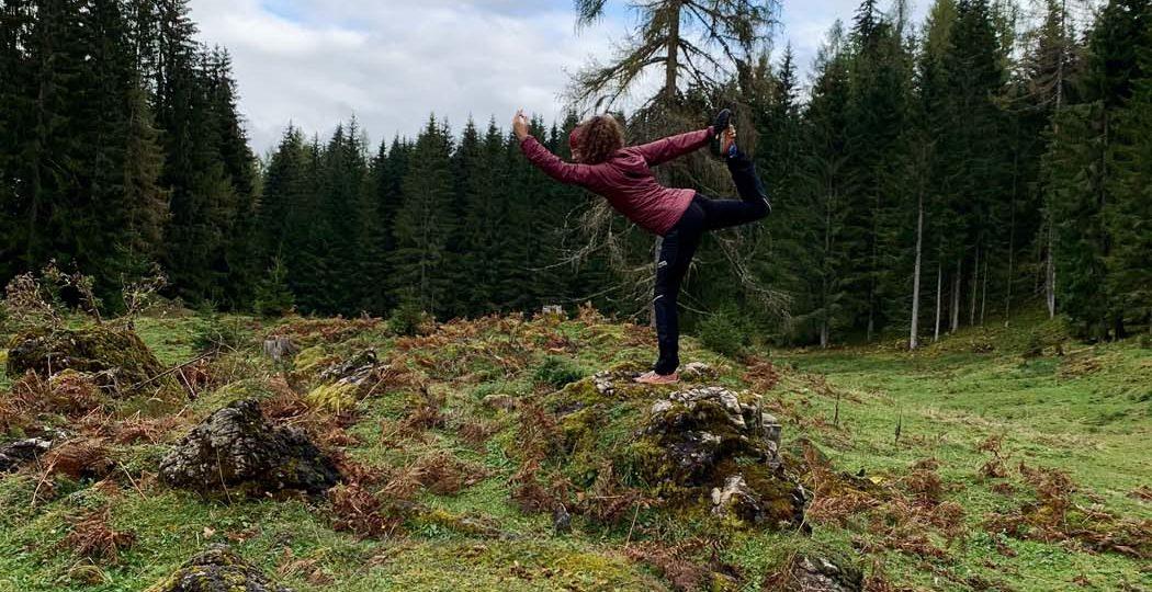 Yoga in der Natur