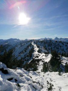 Gipfelglück im Winter, ein Traum für alle Bergliebhaber