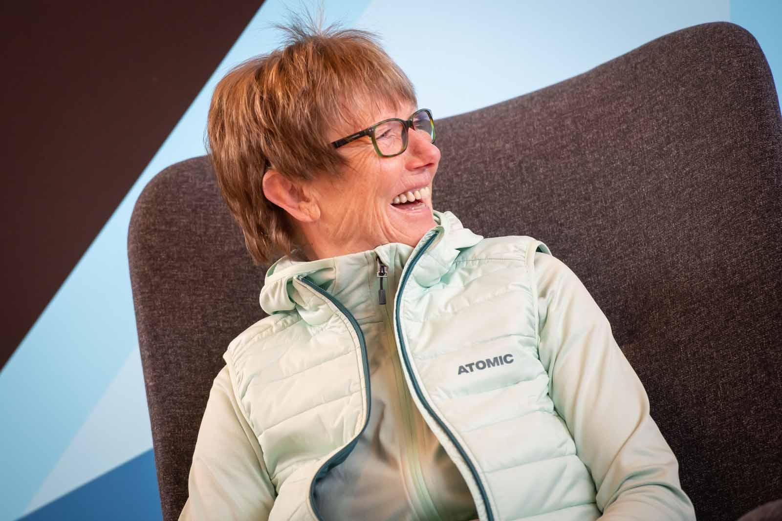 Legenden Talk im Snow Space Salzburg mit Michael Walchhofer, Annemarie Moser Pröll und Hermann Maier