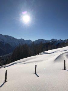 Winterwandern in Wagrain Kleinarl bei perfekten Wetter