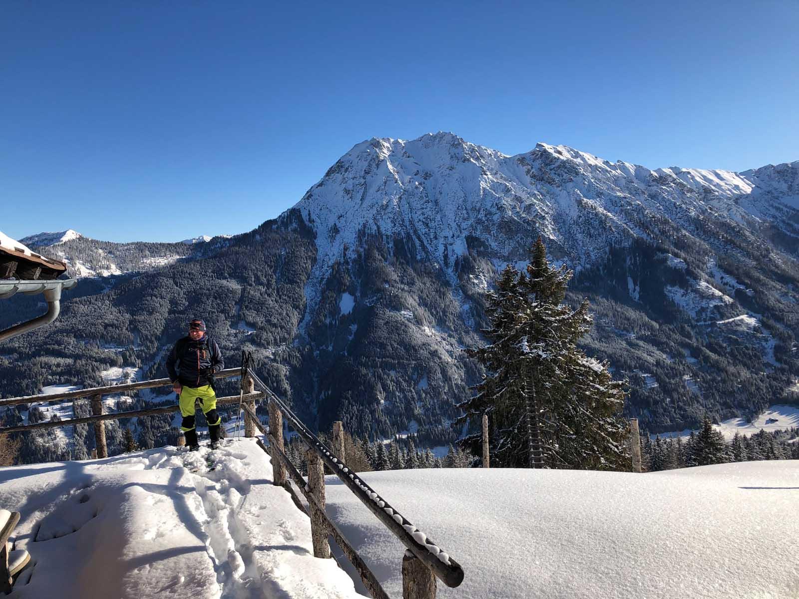Ski tour tip in Salzburg, ski tour route in Wagrain-Kleinarl