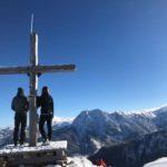 Ski touring to the Penkkopf