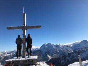 Skitourengehen zum Penkkopf