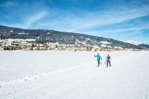 anglaufen in Radstadt, Freizeitaktivität Salzburg, Winterspaß