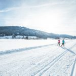 Cross country skiing in Radstadt, leisure activity Salzburg, winter fun