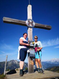 Aussichten und Erlebnisse beim Salzburger Sportwelt, Blogbeitrag Wandern, Wandern mit Freunden