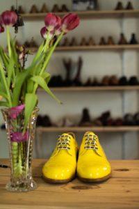 selbstgemachte Schuhe aus Österreich