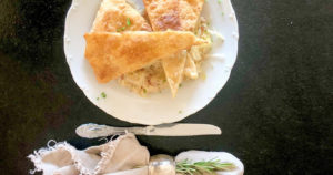 Österreichische Küche zum Nachkochen, selbstgemachte Blattlkropfen
