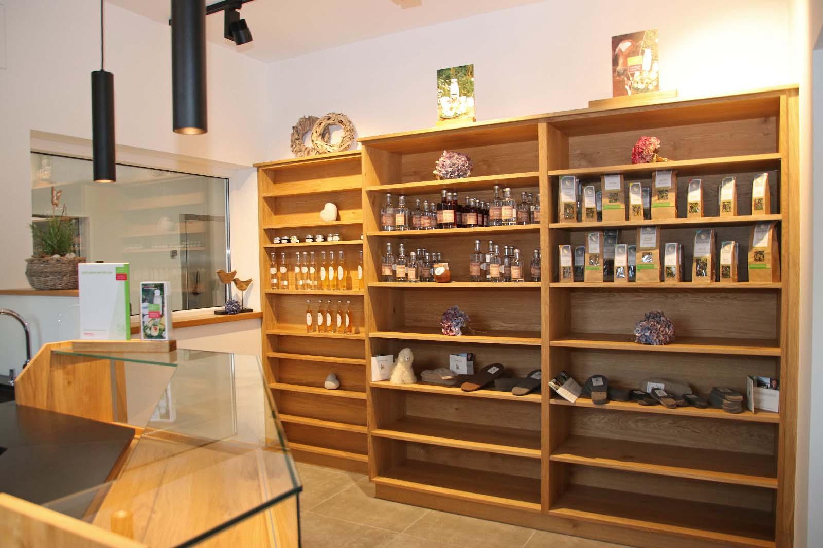 Innenraum Verkaufsshop Bio aus dem Tal Wagrain-Kleinarl