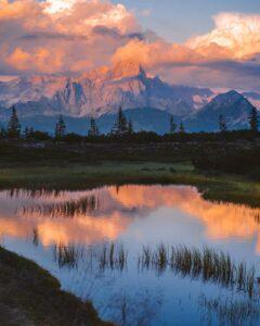 Sonnenuntergang am Gerzkopf