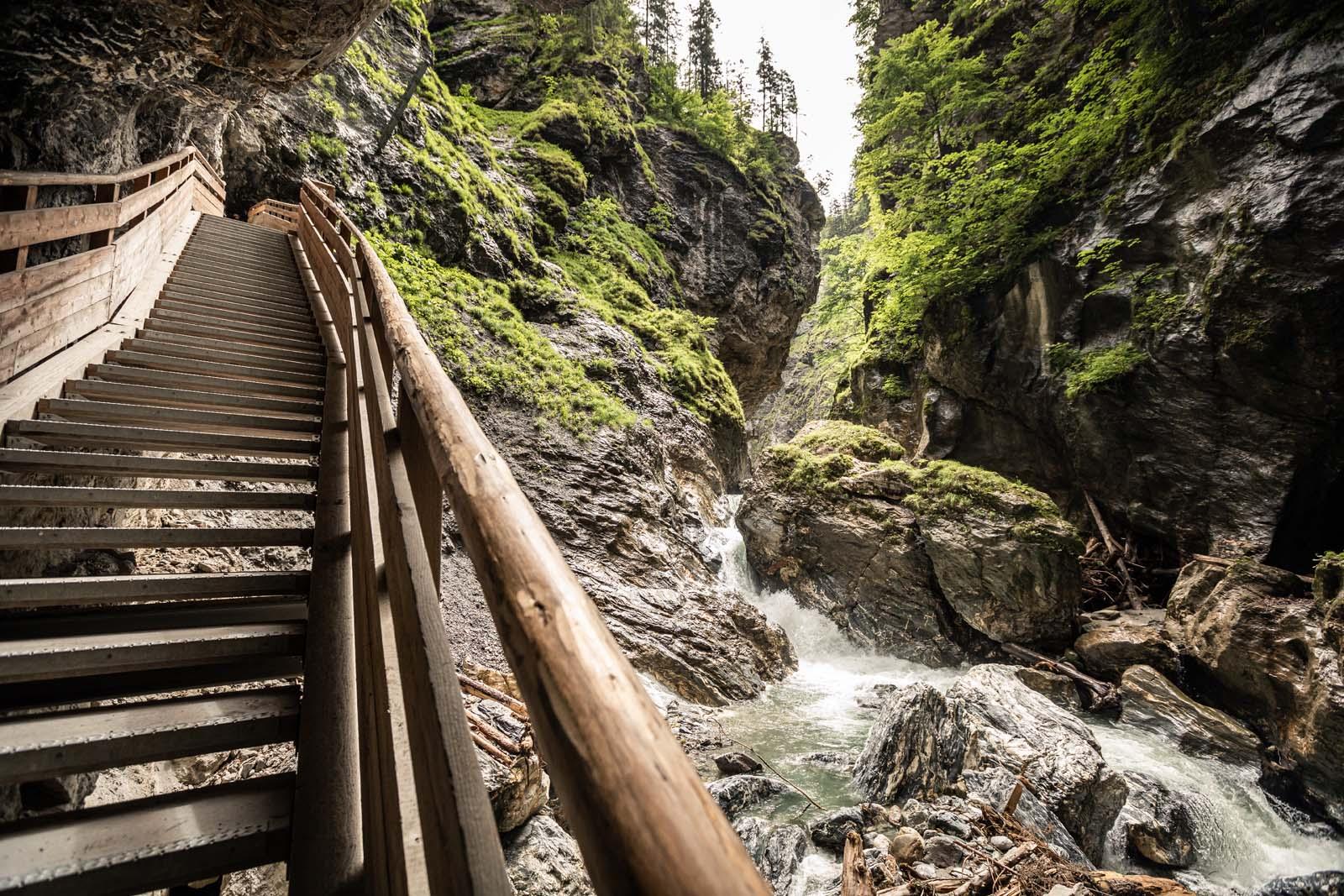 Ausflugsziel Liechtensteinklamm