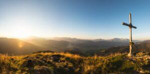 Sonnenuntergang am Lackenkogel