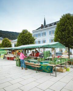 Kulinarische Genüsse am Radstädter Wochenmarkt