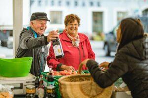 Der Radstädter Wochenmarkt ist bekannt für seine heimischen Spezialitäten