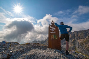 Aussicht bei der 4-Gipfel-Tour in Zauchensee