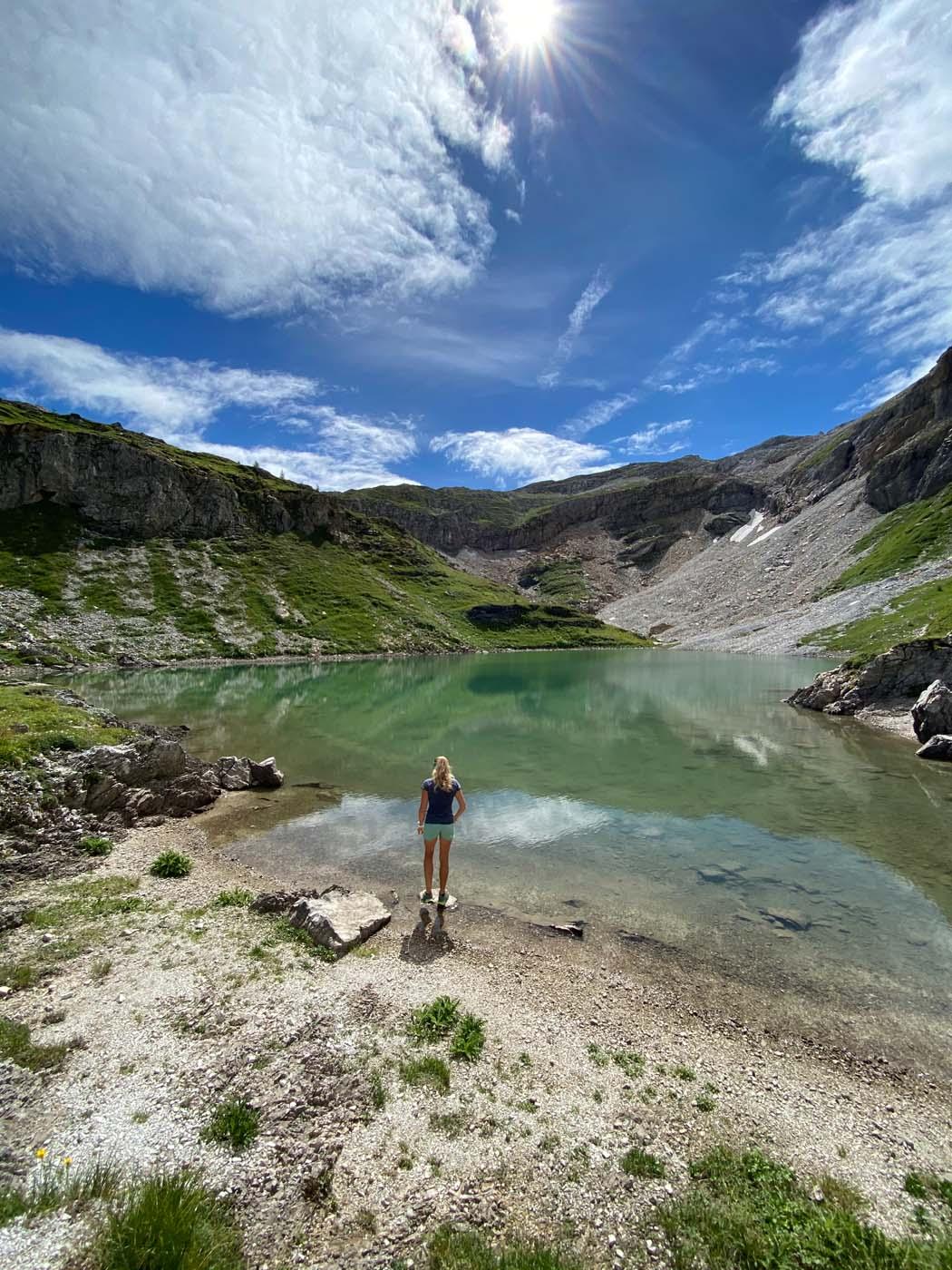 Schöne Naturlandschaft am Neukarsee