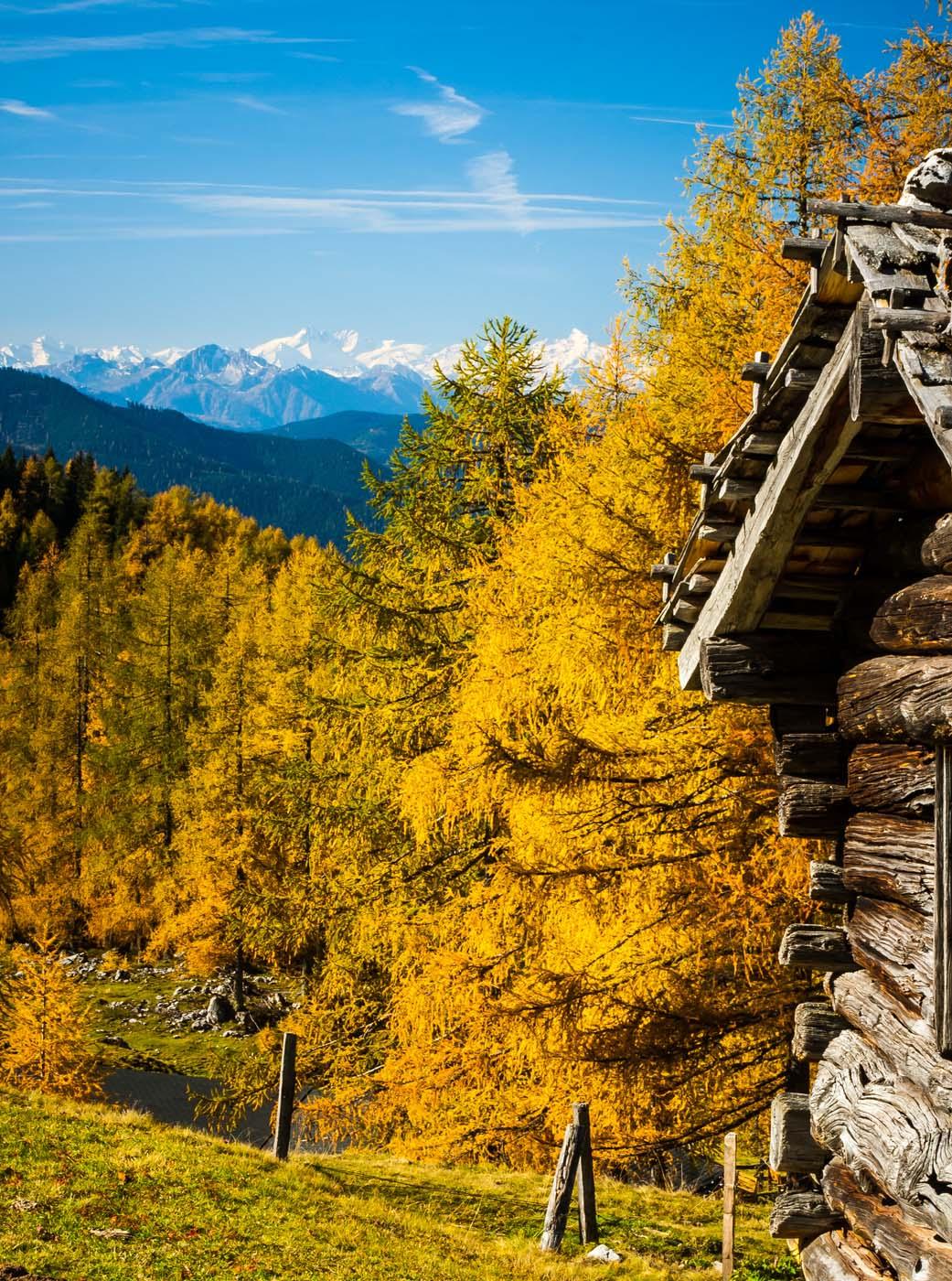 Herrliche Herbstwanderung in der Salzburger Sportwelt