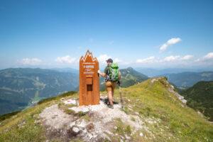Tagweidegg - ein Gipfel der 4-Gipfel-Tour in Zauchensee