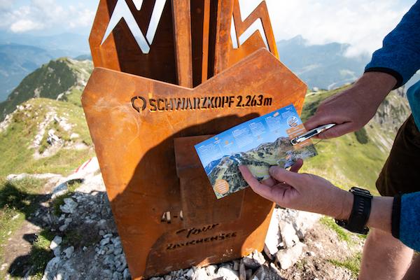 Der Schwarzkopf in Zauchensee einer von den 4 Gipfeln der 4-Gipfel-Tour