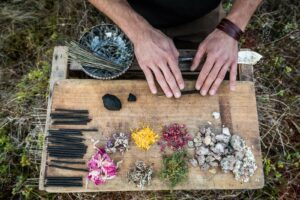Verschiedene Kräuter eignen sich besonders gut für den Waldrauch