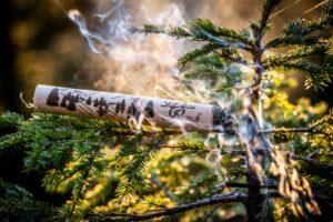 Verpackung für den Waldrauch direkt aus Zirbenholz