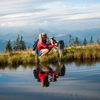 Perfect autumn hiking tour = dog is happy and I am happy 😊👌.   Do you also like hiking with your four-legged friend 😀👏?  #bloghuette #salzburgersportwelt #adventure #hiking #mountains #doglover #nature #outdoorlovers #autumn #perfecttime #perfectday #sun #fun #bettertogether #gooddog   (c) 📸 Radstadt Tourismus